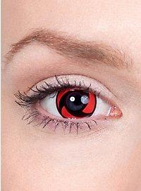 Itachis Mangekyou Sharingan Kontaktlinsen