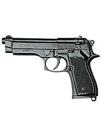 Italienische Militärpistole 9mm Dekowaffe