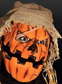 Jack O'Lantern Latex Mask