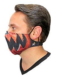 Jack O'Lantern Stoffmaske