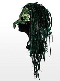 Jade-Drache Ledermaske