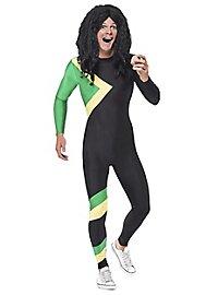 Jamaican bobsledder costume