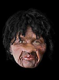 Jamaikaner Deluxe Maske aus Latex