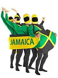 Jamaikanischer Bobfahrer Ganzkörperkostüm