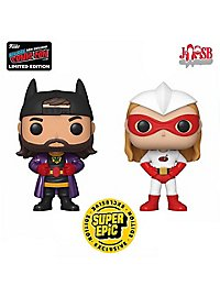 Jay and Silent Bob - Bluntman and Chronic Funko POP! Figuren Set (Fall Convention Exclusive)(Super Epic Exclusive)