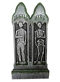 Jekyll & Hyde Tombstone Halloween Decoration