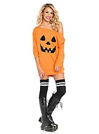 Jersey dress pumpkin