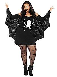 Jerseykleid Spinnweben