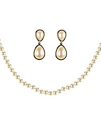 Jewellery set pearls