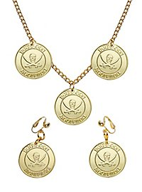 Jewellery Set Pirate Gold