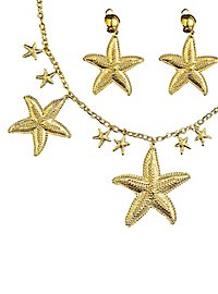 Jewellery set starfish