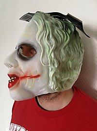 Joker Deluxe Vollmaske aus Latex