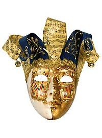 Jolly Carte Femminile oro bianco - Venezianische Maske