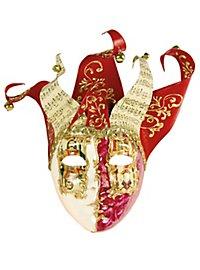 Jolly Carte Femminile rosso bianco - Venezianische Maske