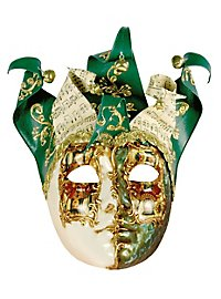 Jolly Carte Femminile verde bianco - masque vénitien