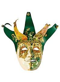 Jolly Carte Maschile verde bianco - Venetian Mask