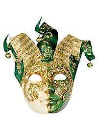 Jolly Colla verde bianco - masque vénitien