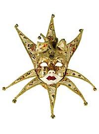 Jolly Collare carta volto stucco - masque vénitien
