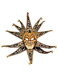 Jolly Collare Velluto nero Venezianische Maske