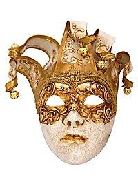 Jolly stucco Craquele bianco Venezianische Maske