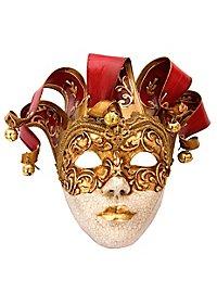 Jolly stucco Craquele rosso Venezianische Maske
