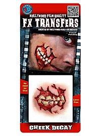 Joue putréfiée 3D FX Transfers