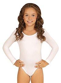 Justaucorps blanc pour enfant