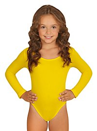 Justaucorps jaune pour enfant