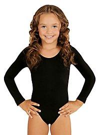 Justaucorps noir pour enfant