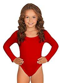 Justaucorps rouge pour enfant