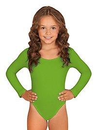 Justaucorps vert pour enfant