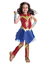 Justice League Wonder Woman Deluxe Kinderkostüm