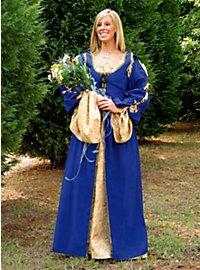 Kammermädchen Obergewand blau