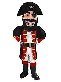 Kapitän Blackbeard Maskottchen