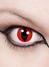 Katzenauge Rot Kontaktlinsen