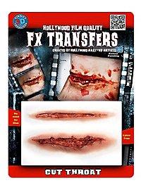 Kehlenschnitt 3D FX Transfers