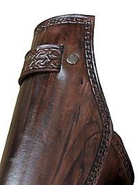 Keltenkrieger Beinschienen dunkelbraun