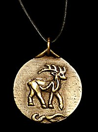 Keltisches Hirsch Medaillon