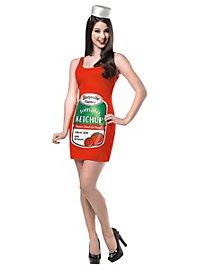 Ketchup Kleid Karnevalskostüm