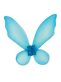 Kids Glitter Wings light blue