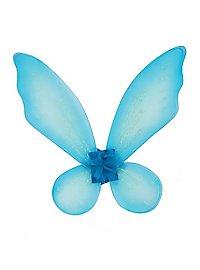Kids Glitter Wings light blue