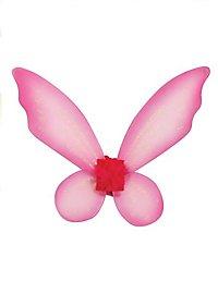 Kids Glitter Wings pink