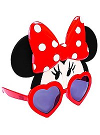 Kids Sun Staches Minnie Mouse Party Glasses