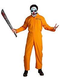 Killer Häftling Horror Clown Kostüm
