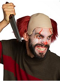 Killerclown headpiece with wig