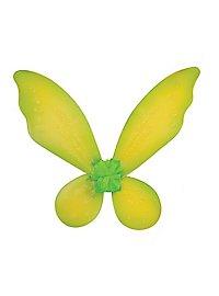 Kinder Glitzerflügel grün