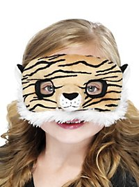 Kinder Kuschelmaske Tiger