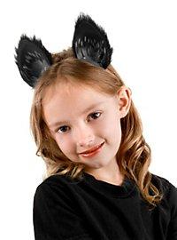 Kit d'accessoires de chat noir