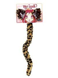 Kit d'accessoires de chat tacheté