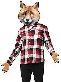 Kit d'accessoires de renard réaliste